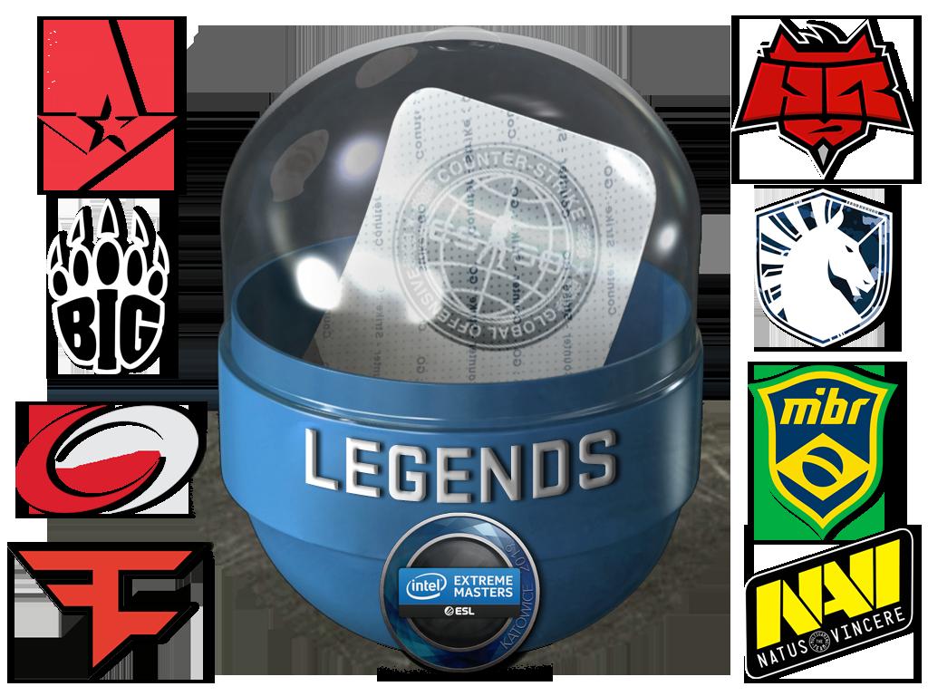 Katowice 2019 Legends (Holo-Foil)