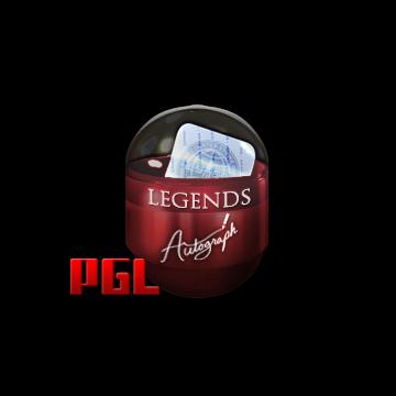 Autographed capsule | Legends | Krakow 2017