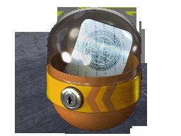 Капсула с наклейкой 2
