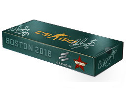 Boston 2018 Cache Souvenir Package