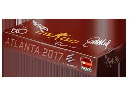 Atlanta 2017 Train Souvenir Package