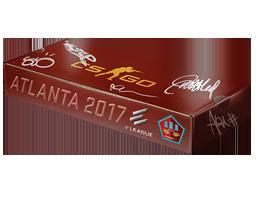 Сувенирный набор «ELEAGUE Atlanta 2017 Mirage»