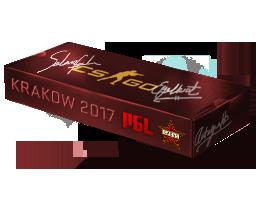 Сувенирный набор «PGL Krakow 2017 Cache»