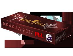 Сувенирный набор «PGL Krakow 2017 Cobblestone»