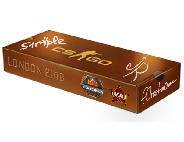 London 2018 Cache Souvenir Package