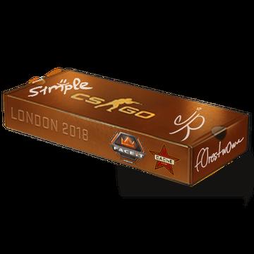 London 2018 Cache Souvenir Package