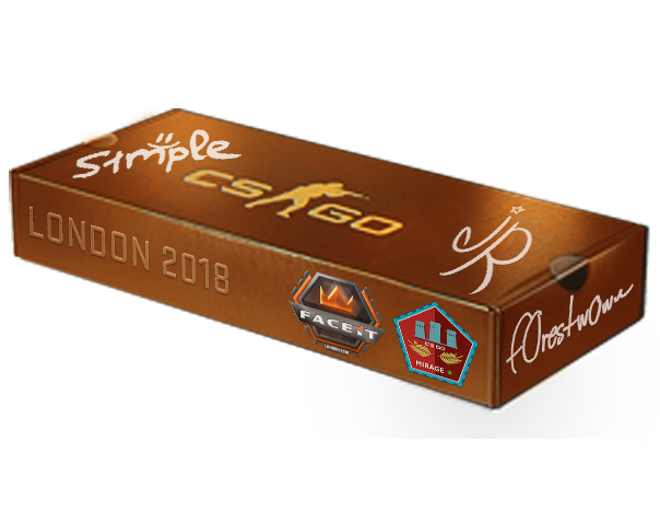 London 2018 Mirage Package