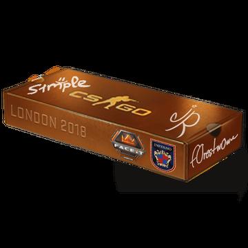 London 2018 Inferno Souvenir Package