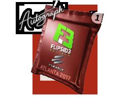 Autograph Capsule | Flipsid3 Tactics | Atlanta 2017