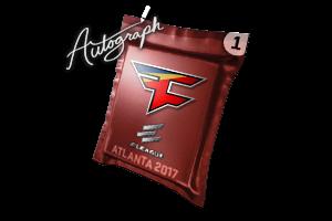 Autograph Capsule Faze Clan Atlanta 2017