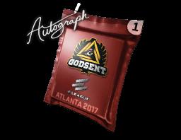 Autograph Capsule | GODSENT | Atlanta 2017