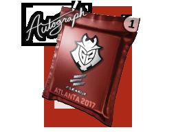 Autograph Capsule | G2 Esports | Atlanta 2017