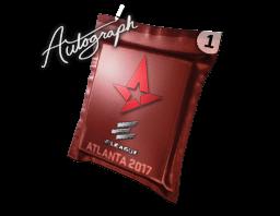 Autograph Capsule | Astralis | Atlanta 2017