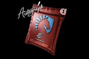 Autograph Capsule Team Liquid Atlanta 2017