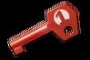 1 号社区印花胶囊钥匙