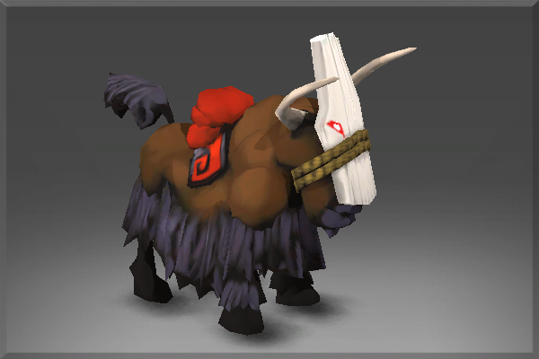 Inscribed Trusty Mountain Yak