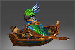 Lt. Squawkins Rowboat Upgrade