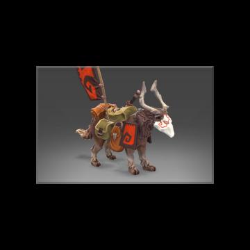 free dota2 item Unusual Enduring War Dog