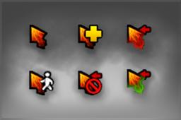 DAC 2015 Chaos Knight Cursor Pack