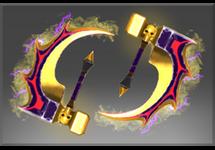Inscribed Golden Basher Blades