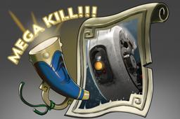 Auspicious Mega-Kills: GLaDOS