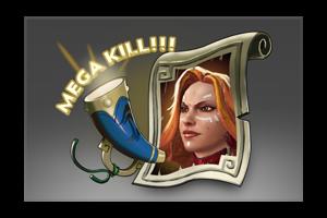 Auspicious Mega Kills Lina