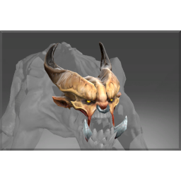 Corrupted Horned Visage of the Ravenous Fiend