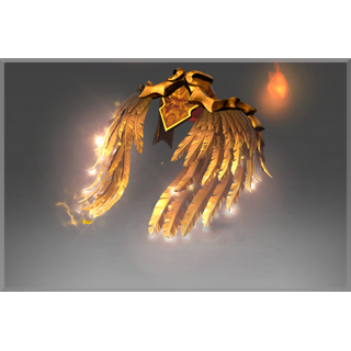 Inscribed Golden Wyrmwrought Flare