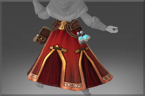 Inscribed Robe of Smoldering Journey