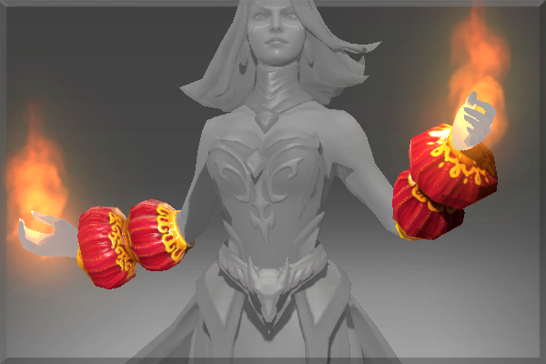 Genuine Gauntlets of the Dragonfire