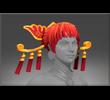 Headdress of the Ember Crane