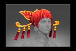 Heroic Headdress Of The Ember Crane