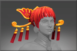 Headdress of the Ember Crane