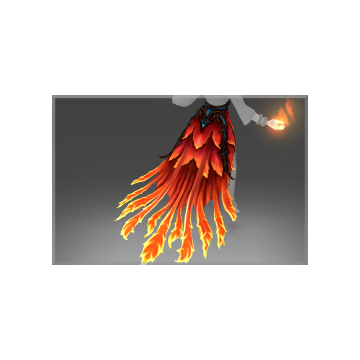 free dota2 item Inscribed Skirt of the Fireflight Scion