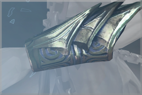 Inscribed Bracers of the Rime Lord