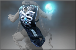 Frozen Emperor's Twin Dragon Cape
