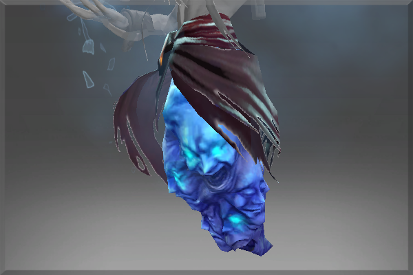Corrupted Cloak of the Frost Lord