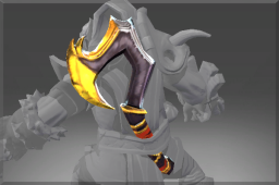 Golden Scythe of The Iron Claw