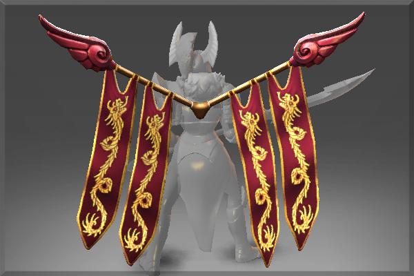 Twin Banner of the Dragon Guard Dota 2