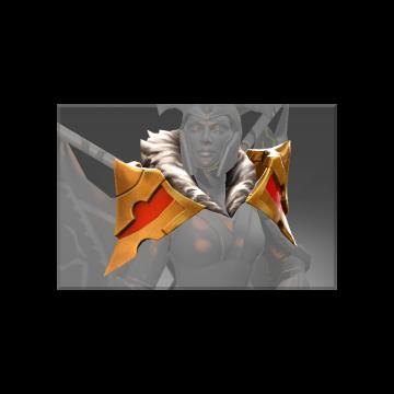 free dota2 item Auspicious Stonehall Royal Guard Pauldrons