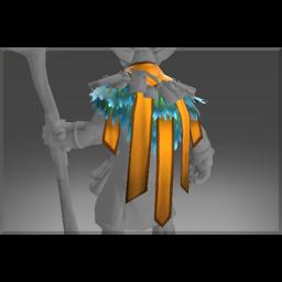 Inscribed Drape of Bird's Stone