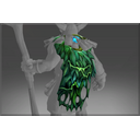 Frozen Great Moss Cape of the Fungal Lord