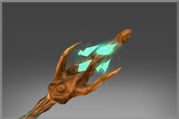 Corrupted Enchanted Manglewood Staff