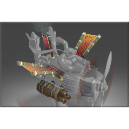 Corrupted Gatling Cannon of the Dragon Emperor