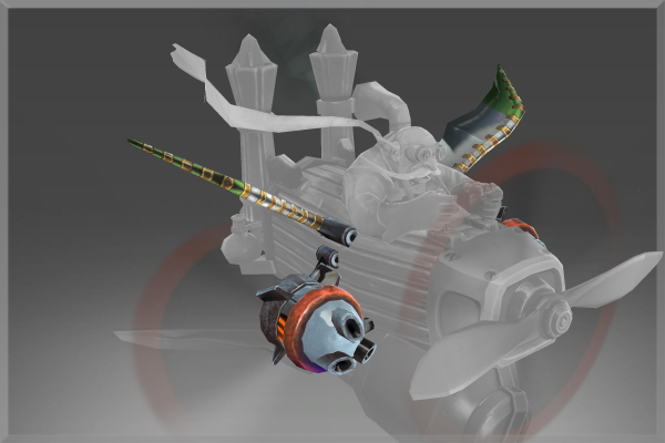 Genuine Iron Artillery of the Dwarf Gyrocopter