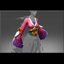 Inscribed Fatal Blossom Robe