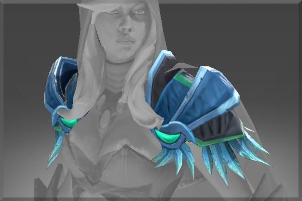 Frozen Sentinel Shoulders