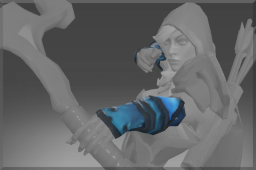 Auspicious Death Shadow Bracers