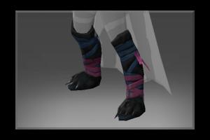 Frozen Gaiters Of The Shadowcat