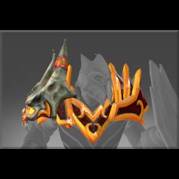 Cursed Shoulders of the Slain Dragon